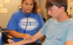 Health Services students are on the job