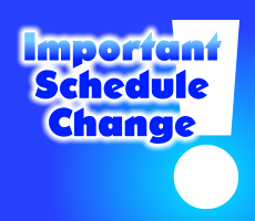 Schedule Change Information