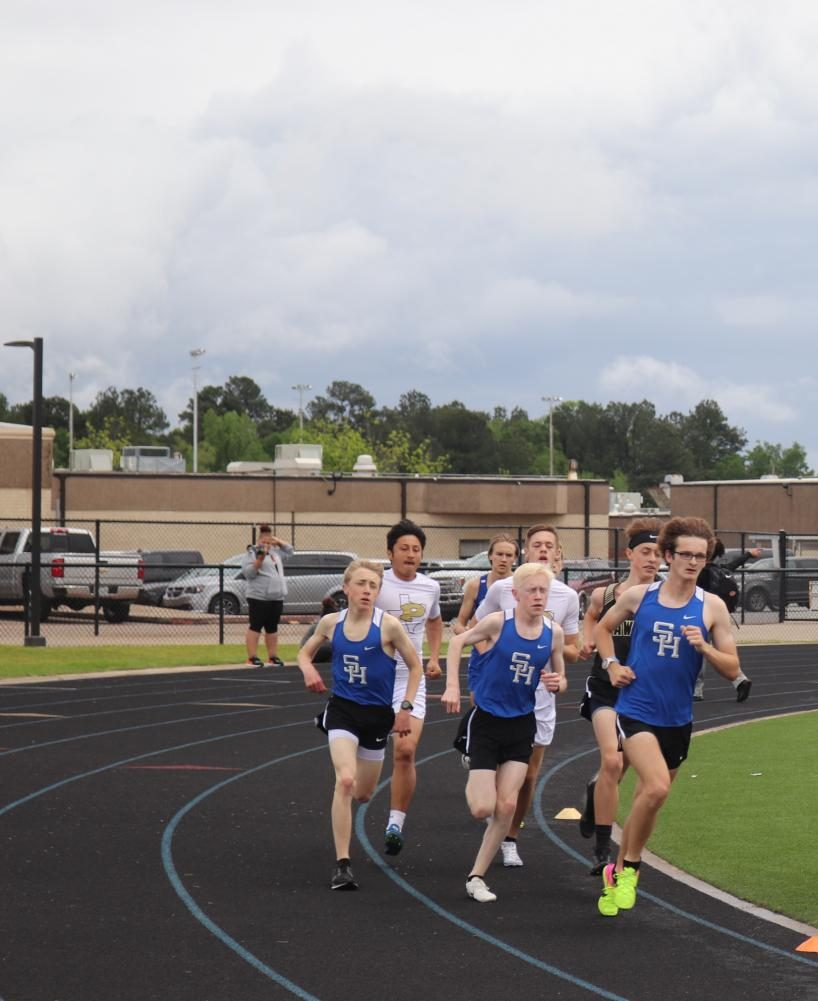 Kalen Barlow, Nick Bodenheimer and Marshall Bodenheimer lead the Pack