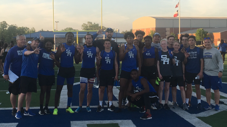 Three-peat for Panther Track