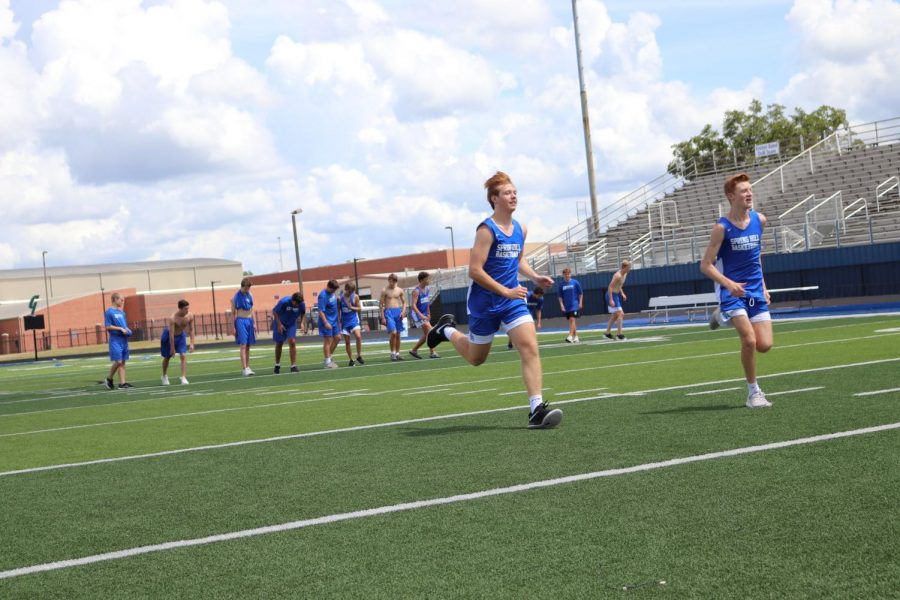 Athletes continue to prepare after school started, even in off season