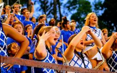 The Blue Brigade at the White Oak Stadium on 9/13