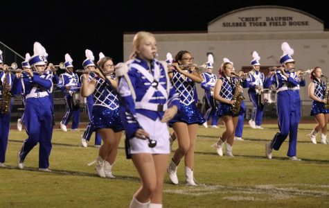 The Blue Brigade at Silsbee 10/4