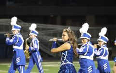 The Blue Brigade at the Spring Hill Homecoming Game 9/27