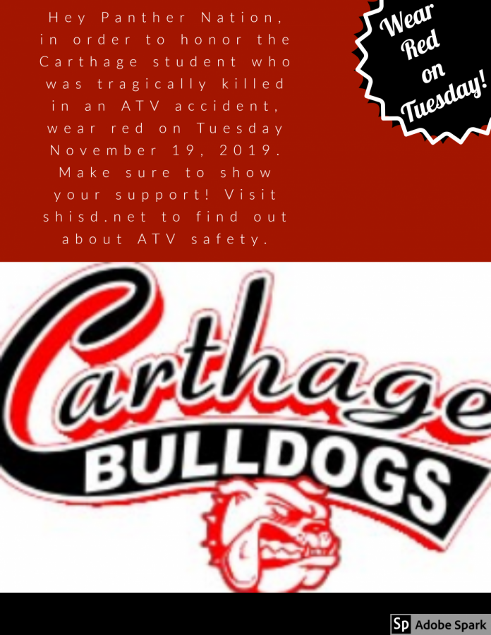 Panthers Support the Bulldogs