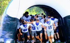 JV Panthers welcome fall, football and fans during the Back to School Pep Rally