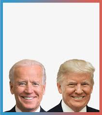 Biden will seeks to win the Presidential election for the Dems and Trump seeks reelection for the Republicans.