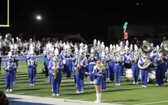 The Blue Brigade plays Starships for the Twirlers and Flags on September 10.